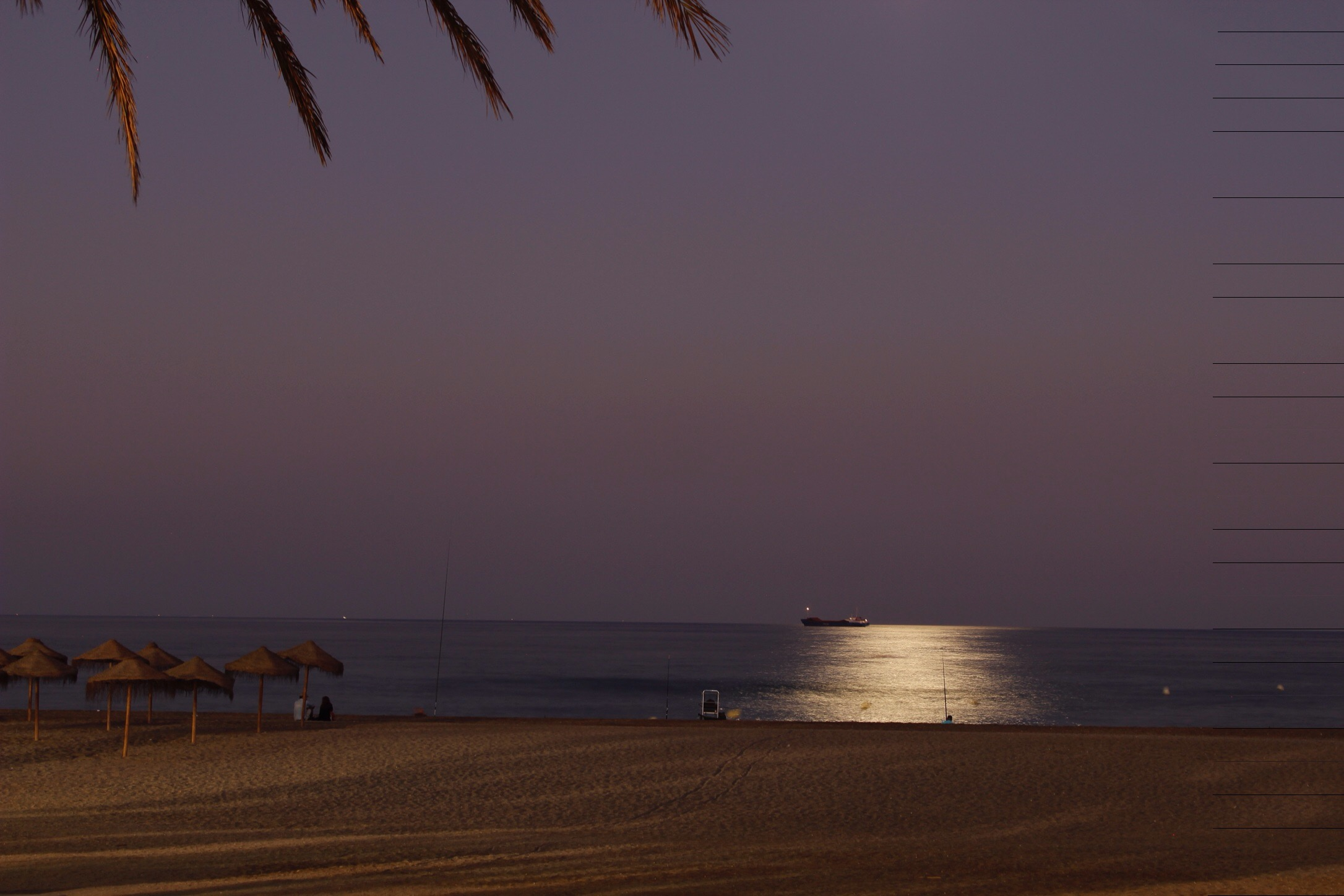 Málaga. Etappe eins in Andalusien.